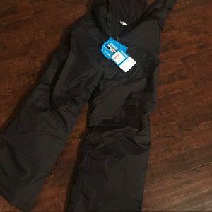 Columbia snowslope bib snow pants - brand new